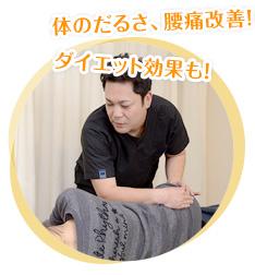 体のだるさ、腰痛改善!